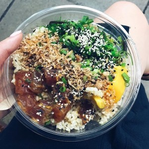 Wish I was having this poke bowl for lunch! Thanks for sharing @theyesmummum