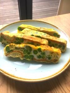 baked spring omelette